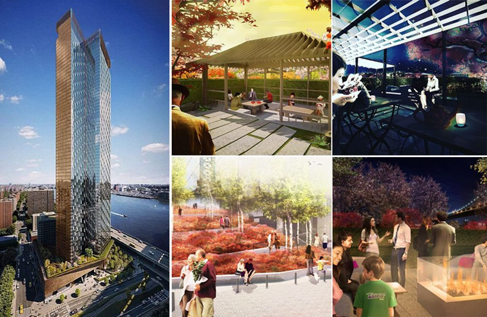 Extell Development, One Manhattan Square, NYC real estate