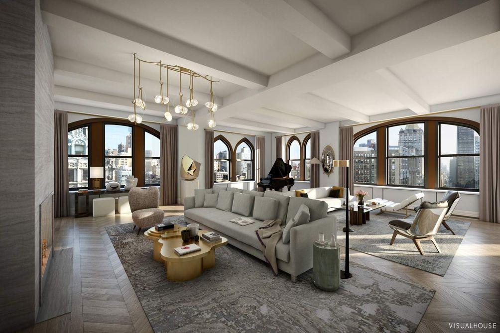 212 Fifth Avenue Living Room