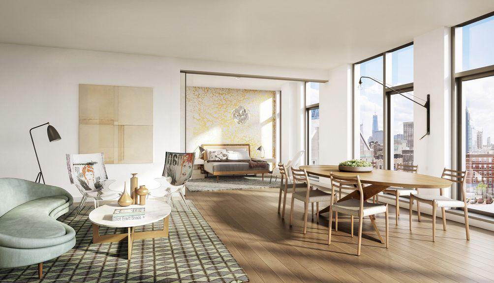 150 Rivington Street interiors
