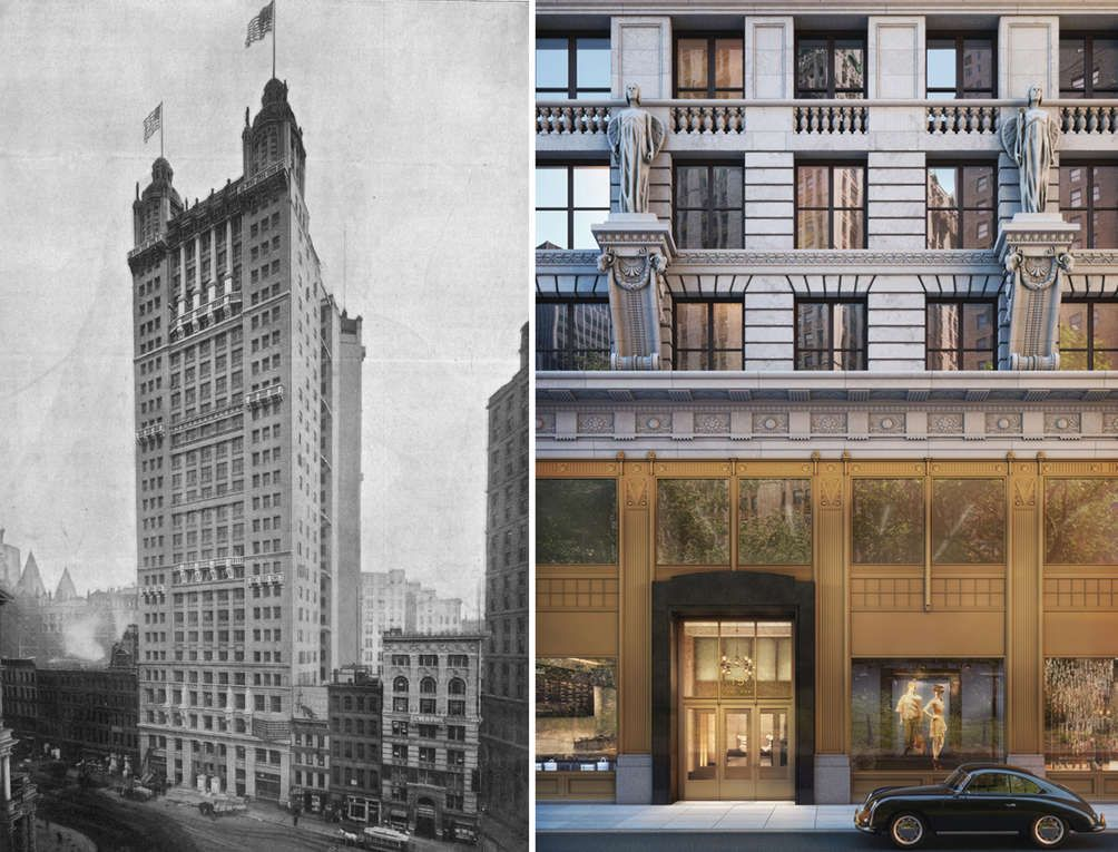 15 park row, former world\u0027s tallest building, gains new rentals and