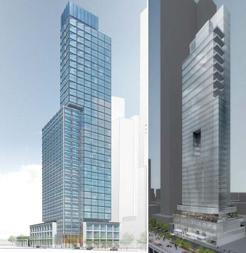 NYC Tower renderings