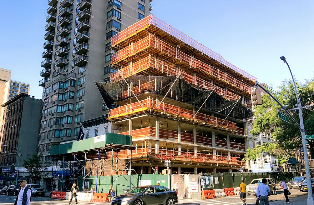 176 East 82nd Street Construction