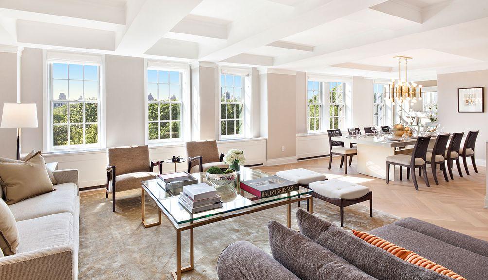 360 Central Park West,  360 Central Park West interior