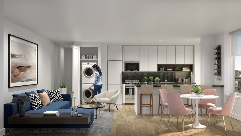 Leasing Launches At Hollingsworth Luxury Midtown Rentals From Simple Manhattan One Bedroom Apartments Model Remodelling