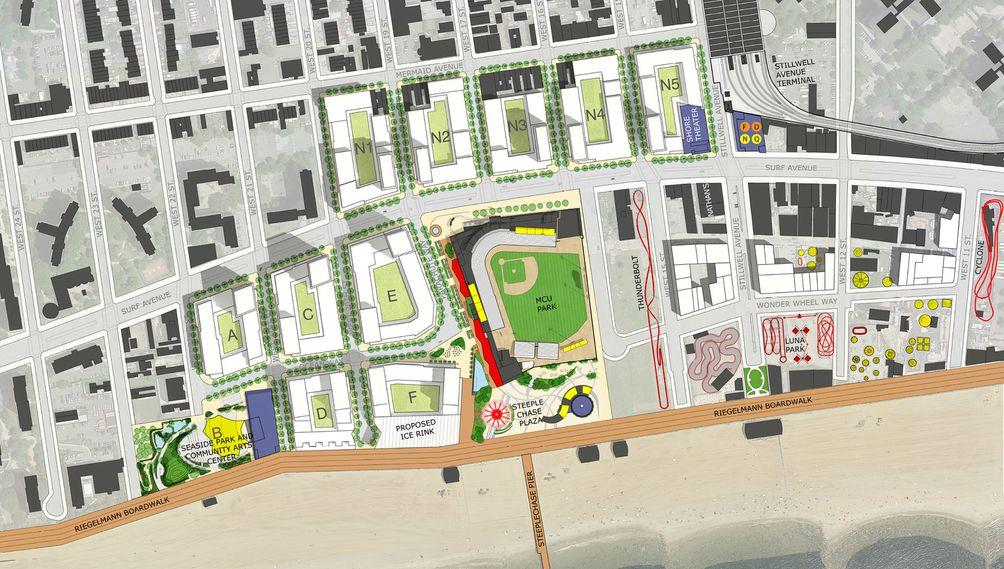 Coney Island Site Plan