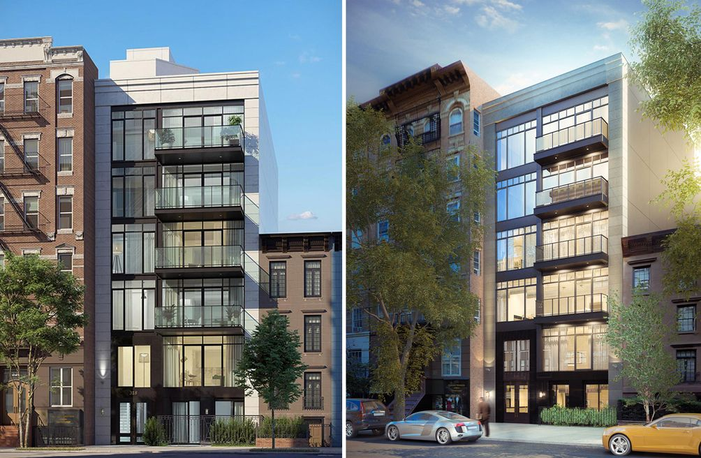 Rendering of the new residential building at 318 East 81st Street in Yorkville