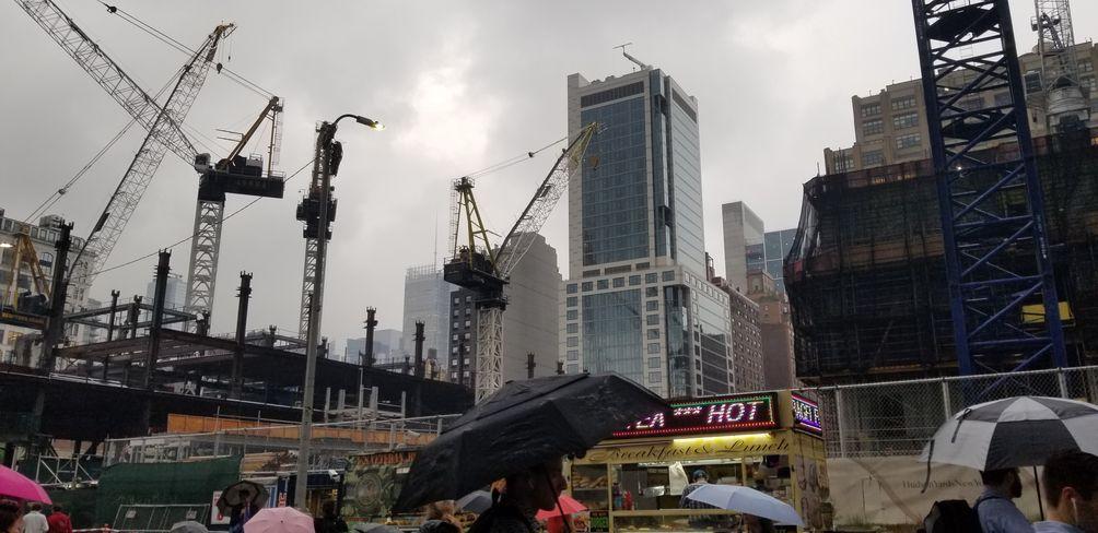 The Spiral, 35 Hudson Yards, 50 Hudson Yards, Vitali Ogorodnikov, Hudson Yards, Hudson Boulevard, office, New York, skyline, skyscraper, construction
