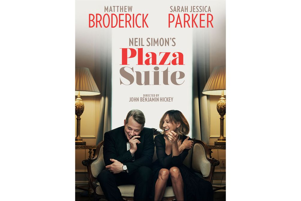 Plaza Suite Matthew Broderick Sarah Jessica Parker