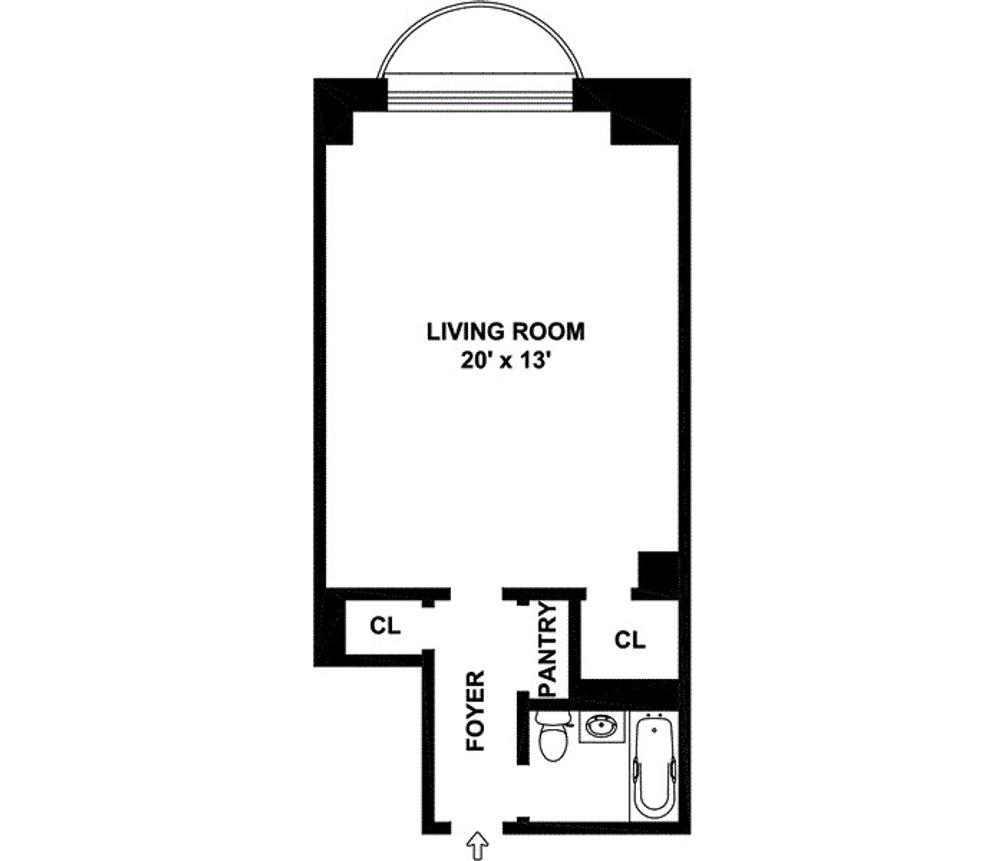 150 Central Park South #1007 floor plan