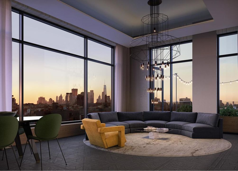 interior rendering 308 north 7th street brooklyn