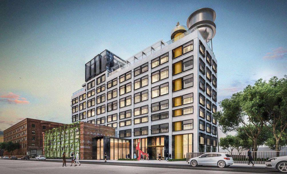 Brooklyn Hotels Greenpoint Development Guttman Apartments Real Estae