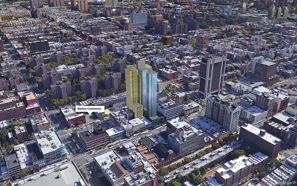 Harlem skyline New yOrk city