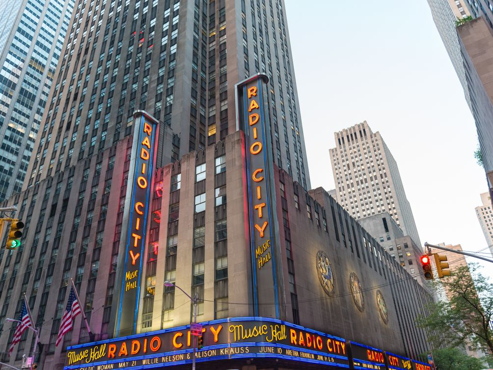 Radio City music hall Radio City
