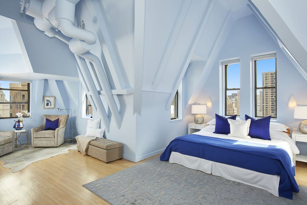 Liberty Tower master suite
