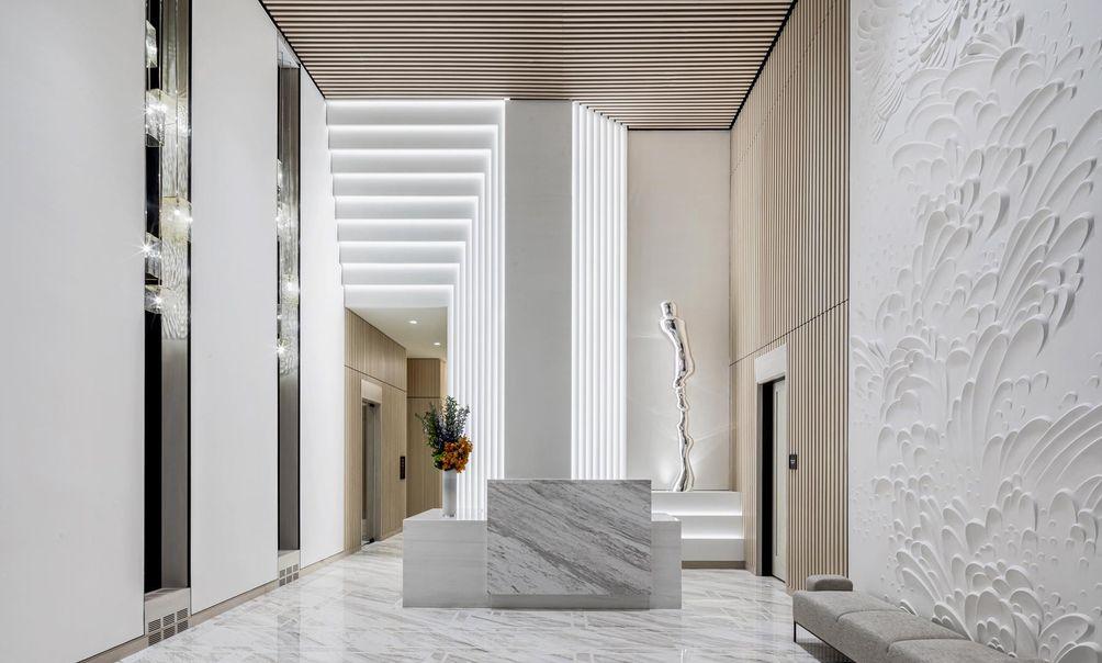 The Centrale lobby
