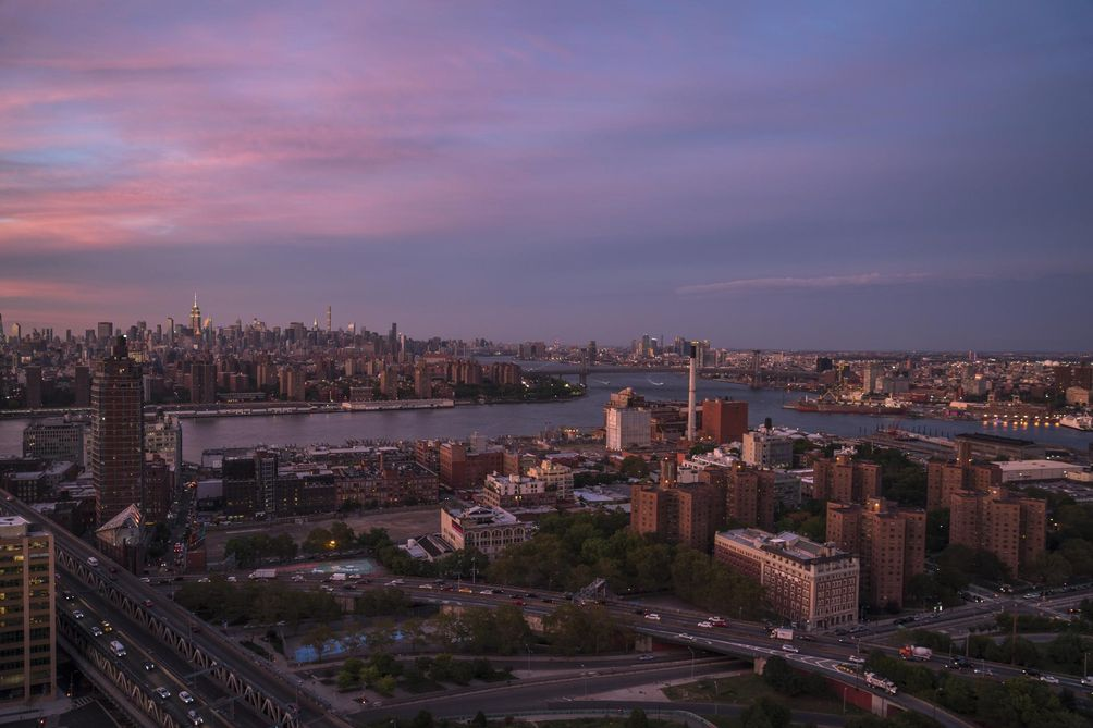 View from The Amberly at 120 Nassau Street in Downtown Brooklyn