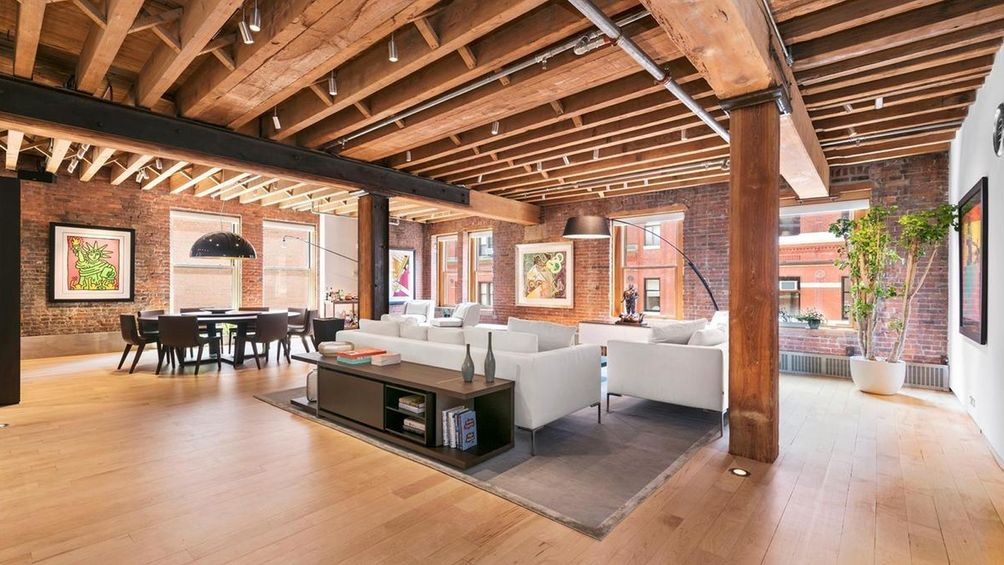 155 Franklin Street Living Area
