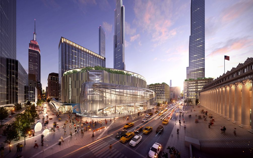 Penn Station new york city plan