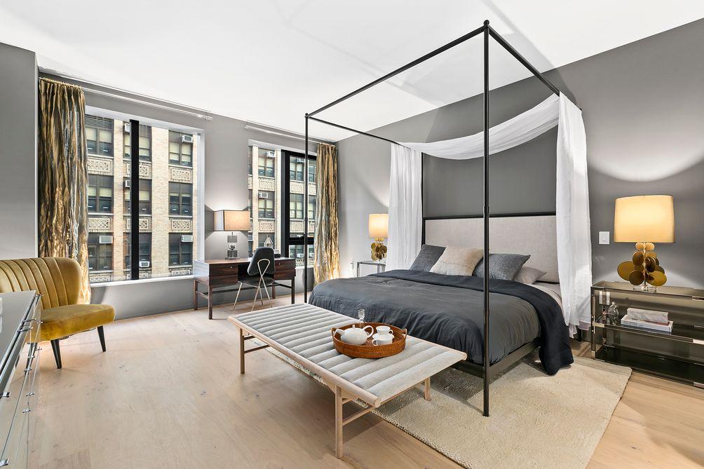 Master Bedroom, 121 East 22nd Street, OMA New York, Shohei Shigematsu, Rem Koolhaas, Toll Brothers, Gemdale