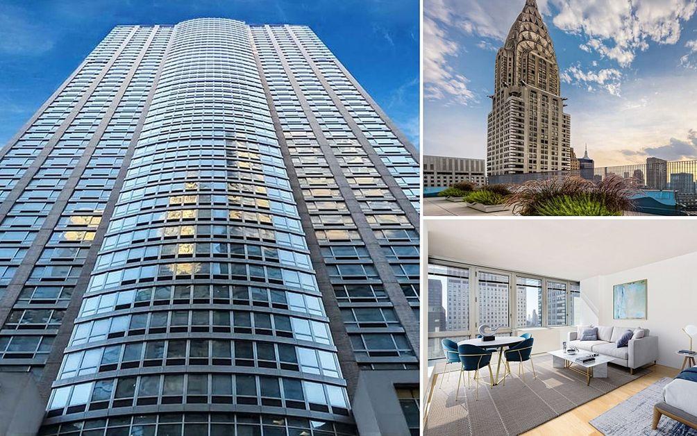 The Metropolis At 150 East 44th Street In Midtown Via Rose Associates
