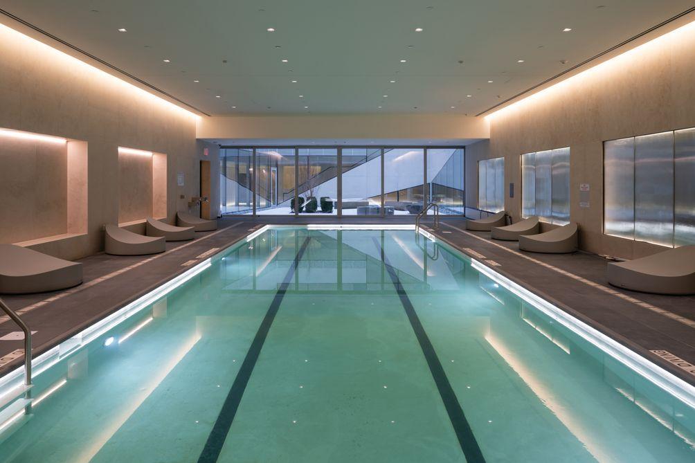Swimming Pool, 121 East 22nd Street, OMA New York, Shohei Shigematsu, Rem Koolhaas, Toll Brothers, Gemdale