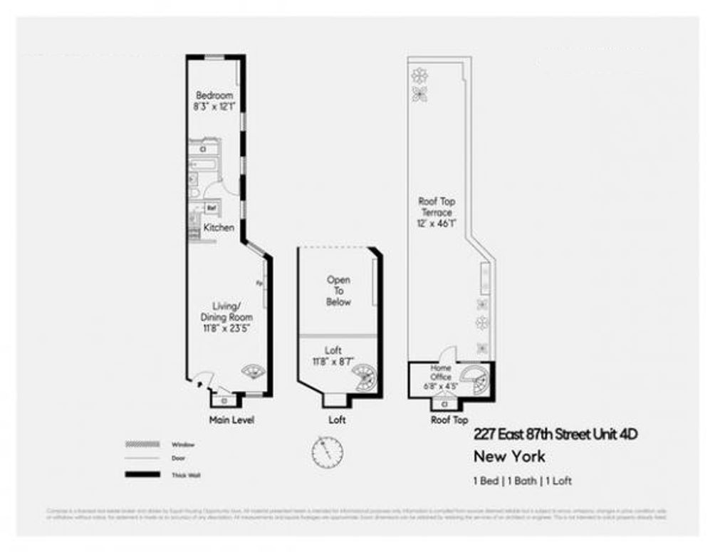 227 East 87th Street #4D floor plan