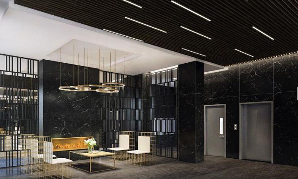 199 Montrose Avenue interior rendering