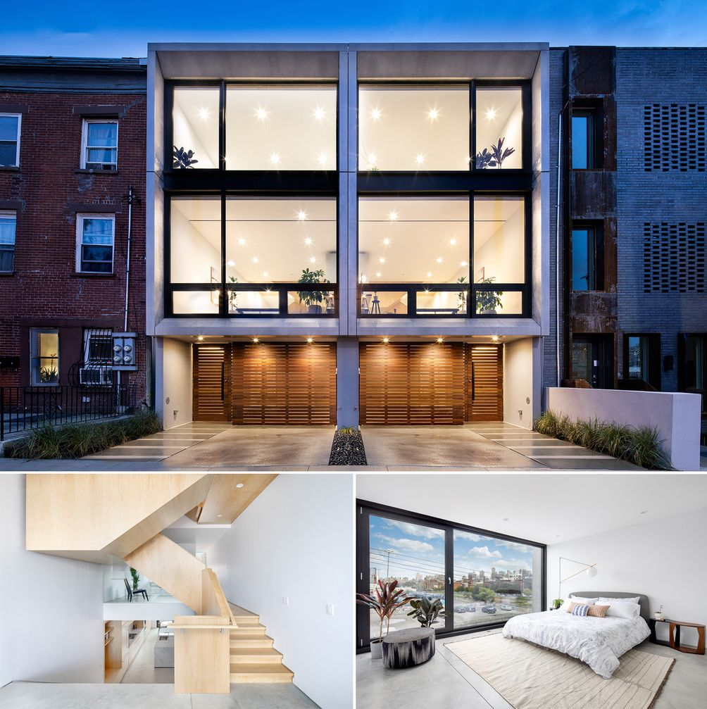Brooklyn modern townhouses