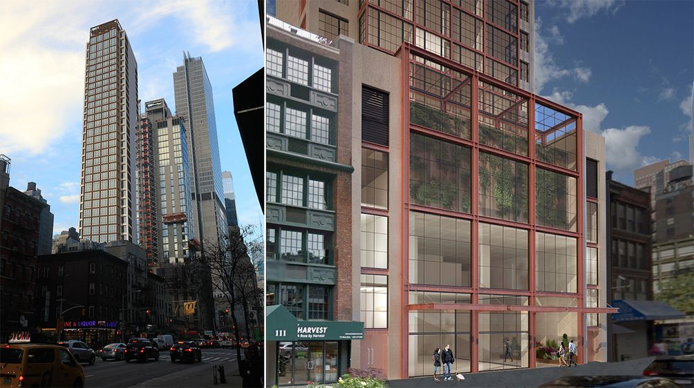 Renderings Of The Moxy Hotel Chelsea Nomad Via Stonehill Taylor Architects