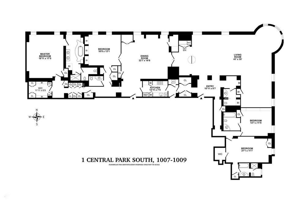 The plaza floor plan