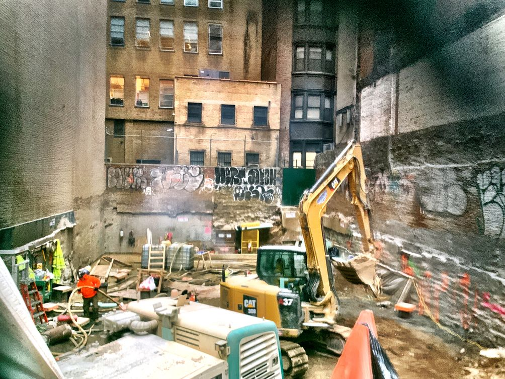 9 East 30th Street, construction, Ondel Hylton