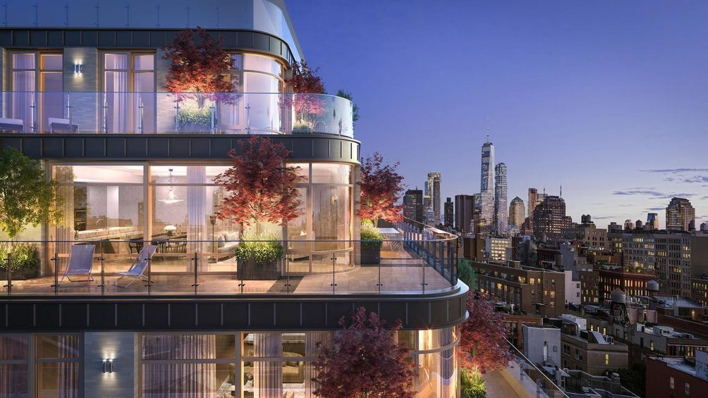 40 Bleecker Street exterior and views