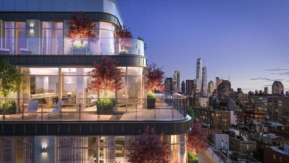 40 Bleecker Street exterior and views