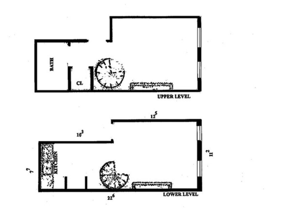 323 East 21st Street #2D floor plan