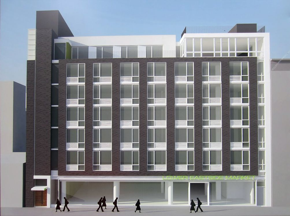 432 East 14th Street exterior rendering