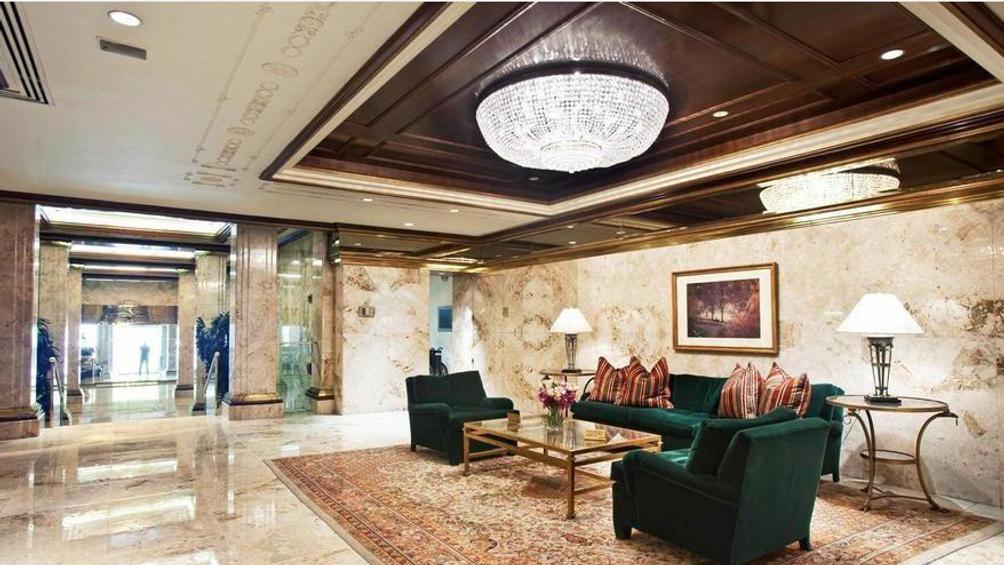The lobby at Trump Parc