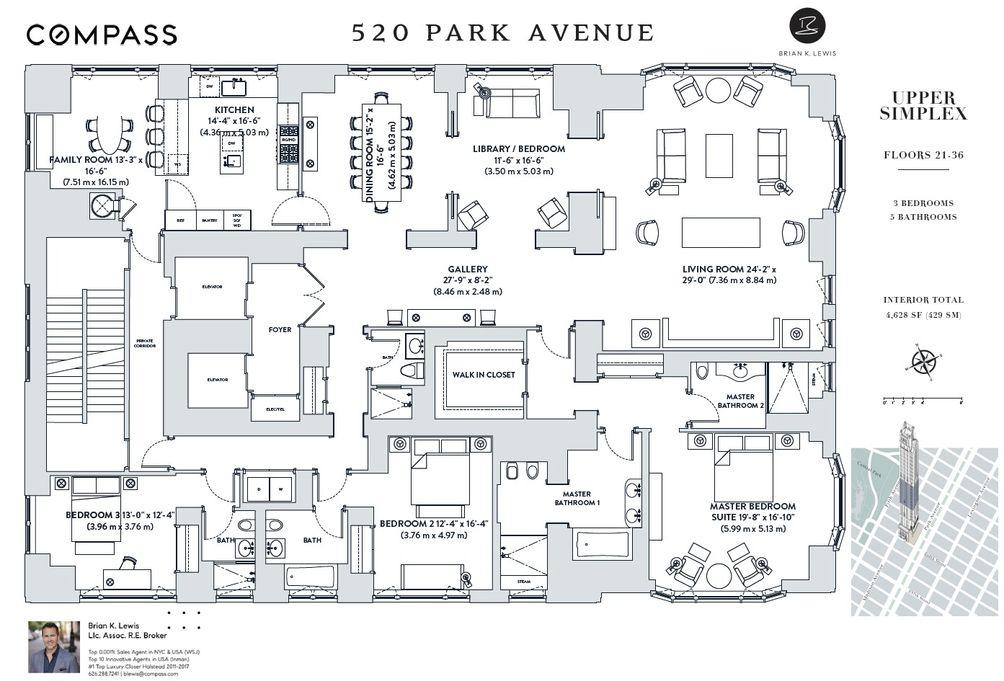 520 Park Avenue, Unit 25