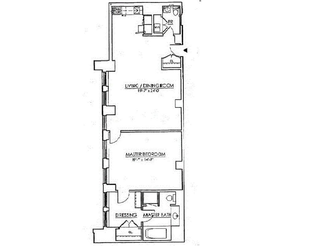 55 Wall Street #905 floor plan