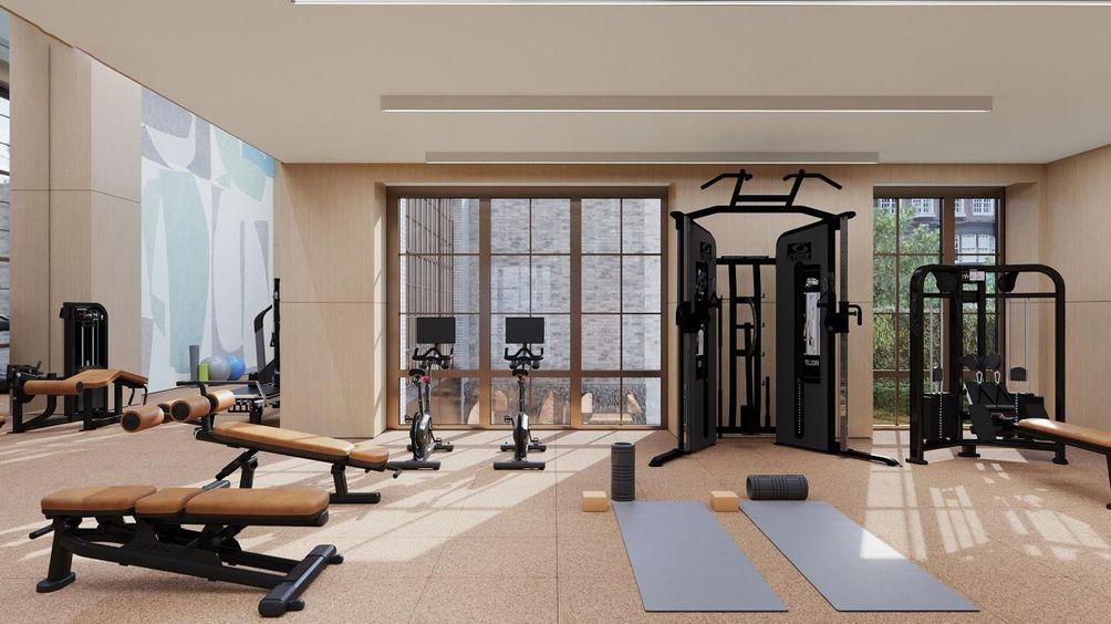 109 East 79th Street gym
