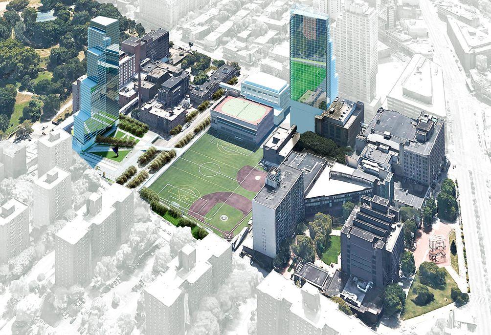 Brooklyn Hospital rendering