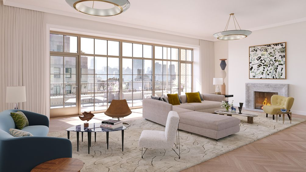109 East 79th Street penthouse