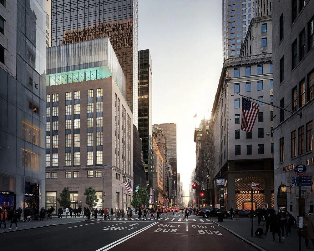 Tiffanys Fifth Avenue