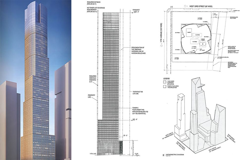 Related Companies Next Supertall 35 Hudson Yards Begins