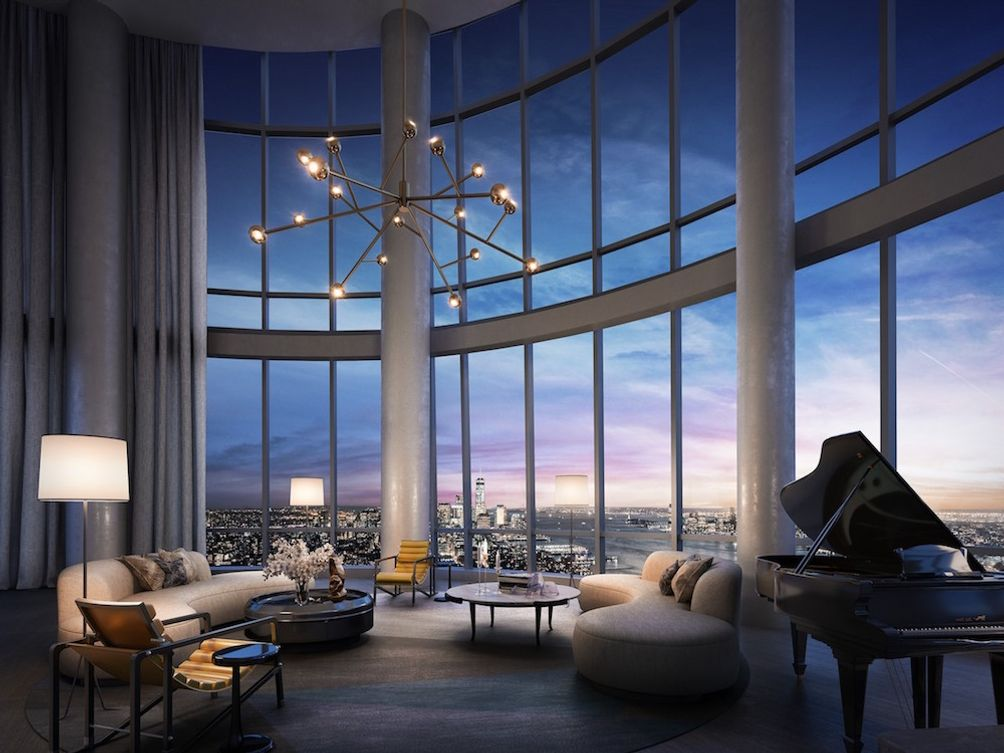 Fifteen Hudson Yards Penthouse 88B.