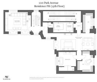 1110 Park Avenue #PH floor plan
