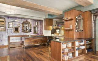 161 Duane Street interiors