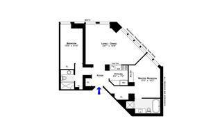 150 West 56th Street #6002 floor plan