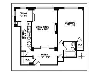 35 West 90th Street #5J floor plan