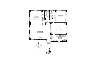 935 Park Avenue #4B floor plan