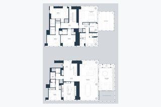 157 West 57th Street #41D floor plan